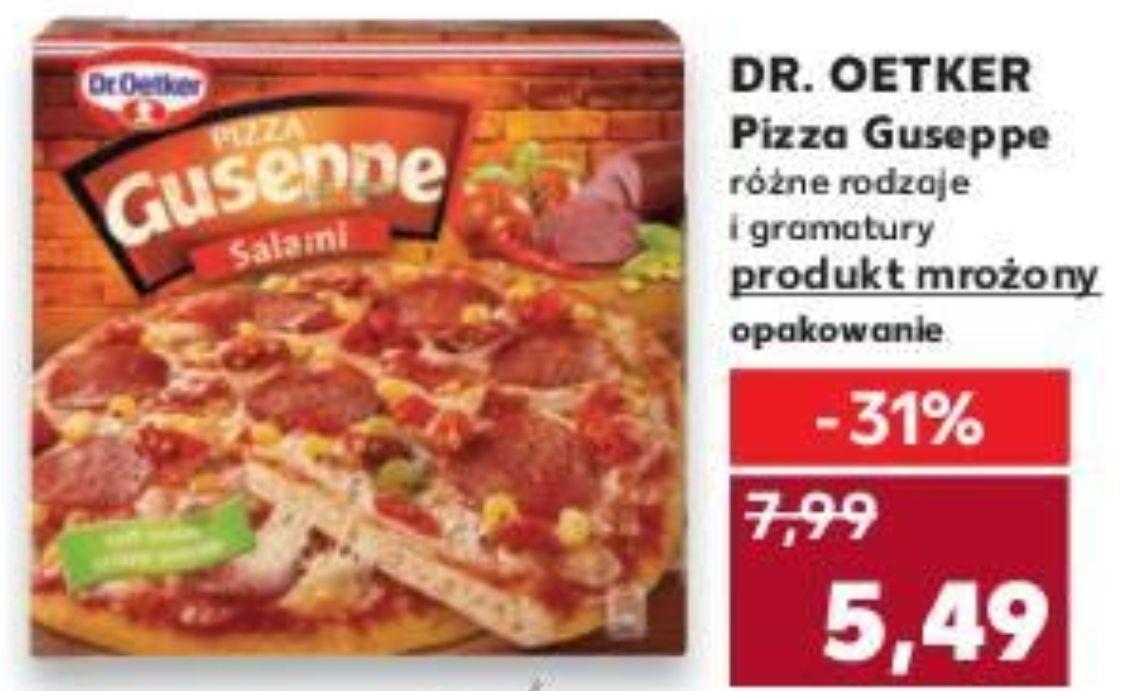 Pizza Guseppe różne rodzaje @Kaufland