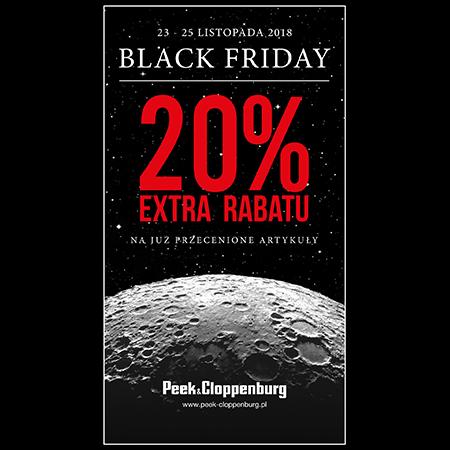 [23-25.11] Black Friday - dodatkowe 20% zniżki na przecenione ubrania @ Peek&Cloppenburg