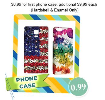Case na telefon z własnym obrazkiem i wiele więcej za 1$ (ok. 3,71zł) @ Cowcow.com
