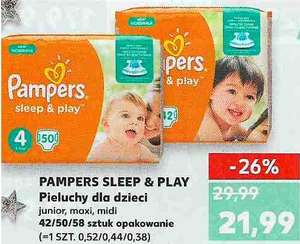 Pampers Sleep&Play w Kauflandzie