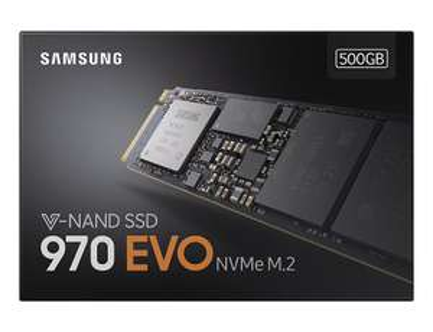 Samsung SSD 970 EVO M.2 500GB 3400/2300 NVMe BOX