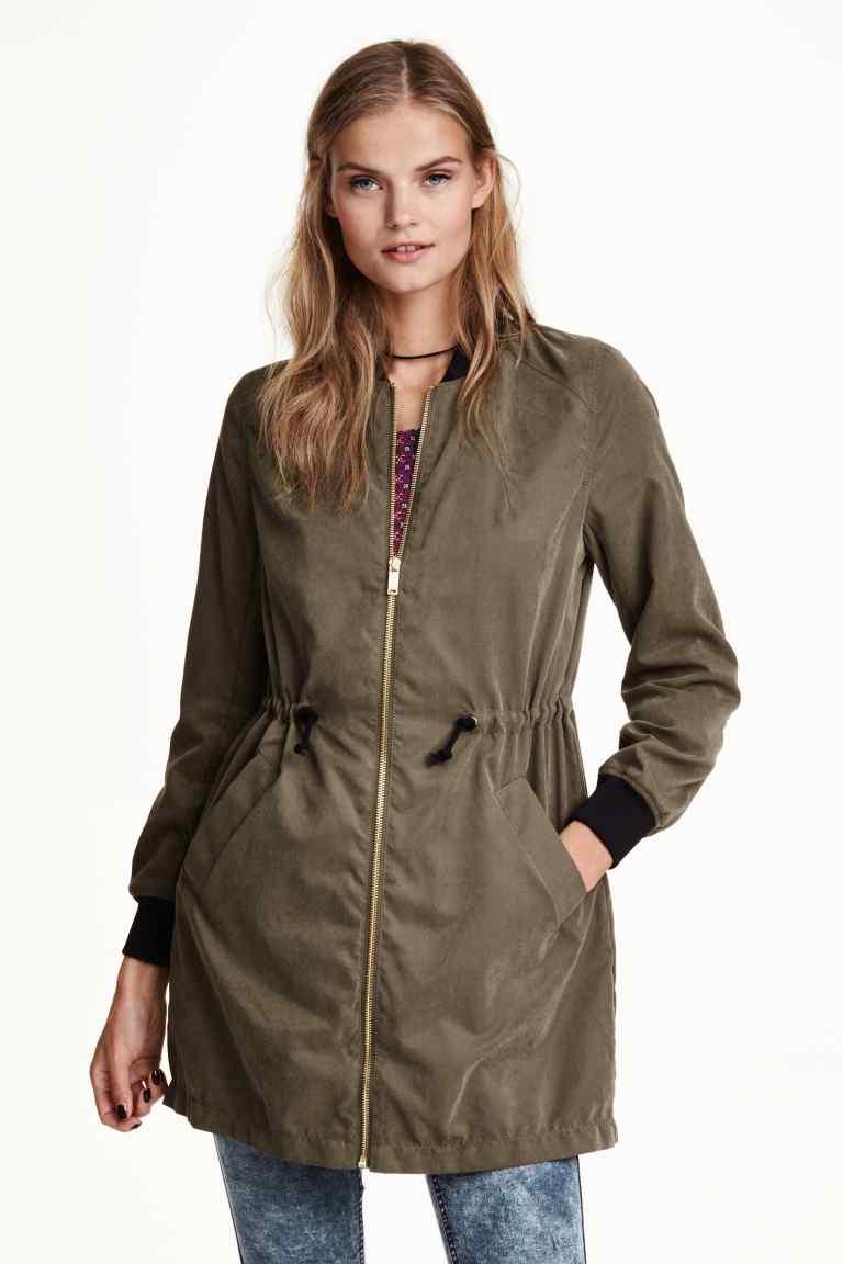 Długa kurtka damska za 73zł + darmowa dostawa @ H&M
