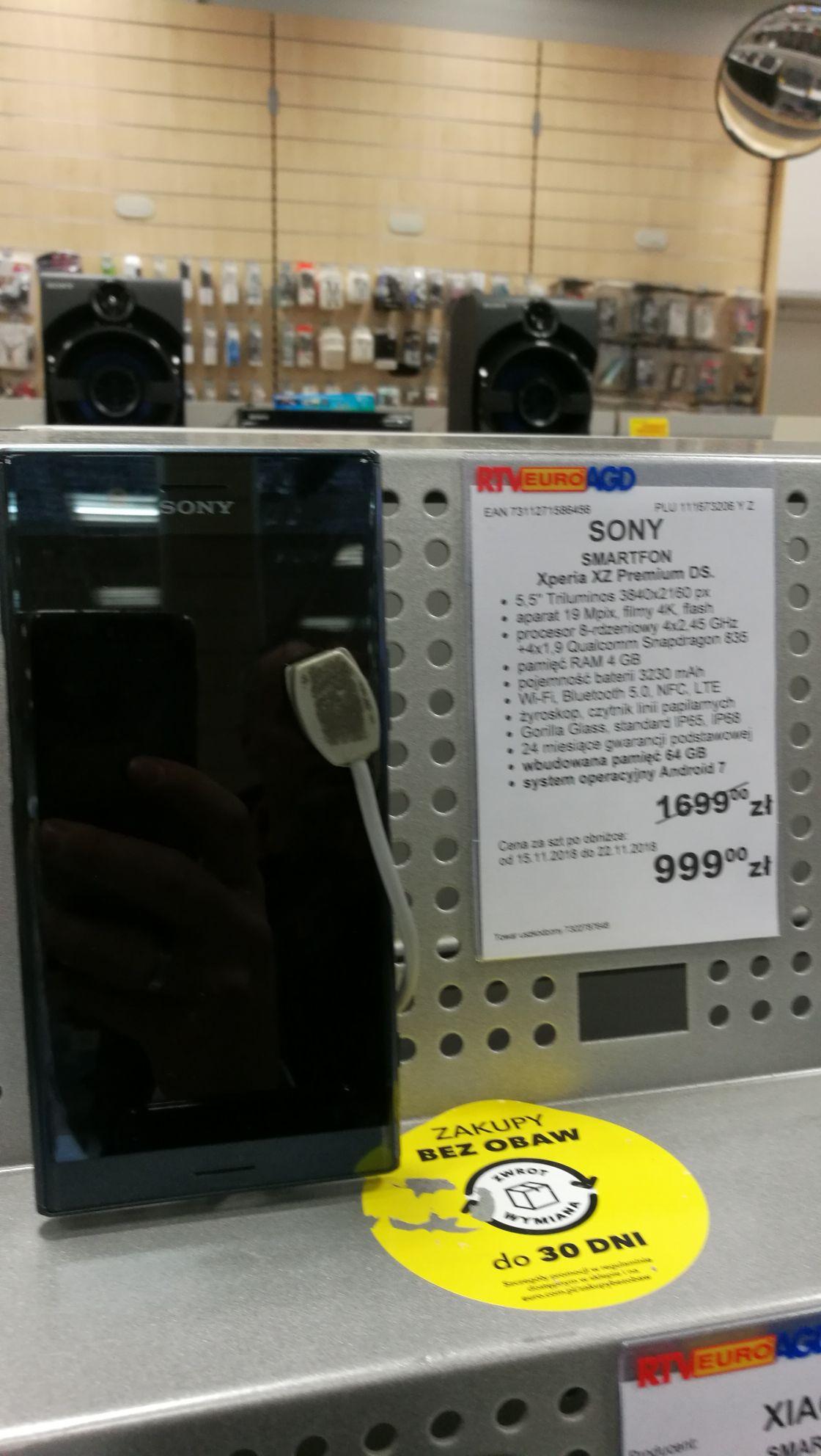 Sony Xperia XZ Premium Dual SIM Euro Jelenia Góra