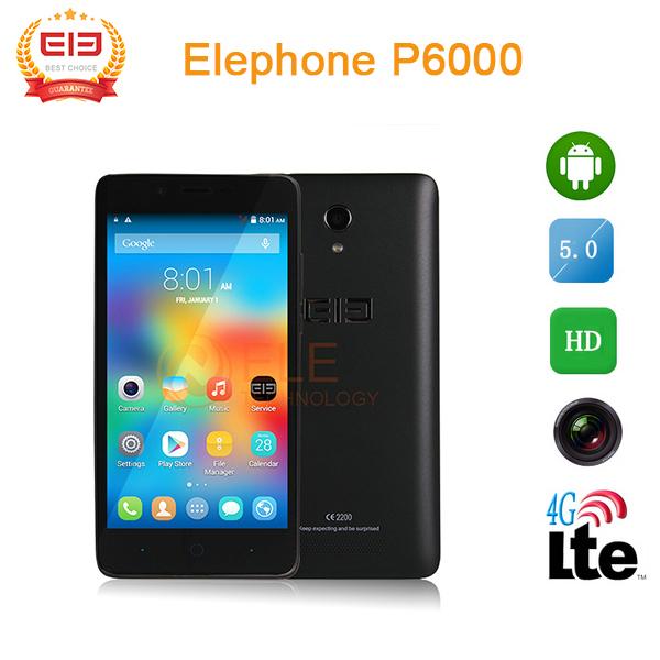 Elephone P6000 Pro - Telefon z 3GB Pamięci RAM i LTE @ Aliexpress