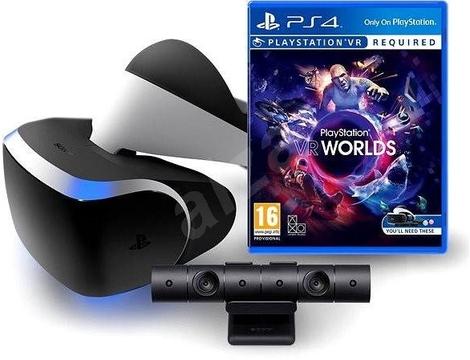 PS VRv2 + PS Camera + VR Worlds + Asto bot