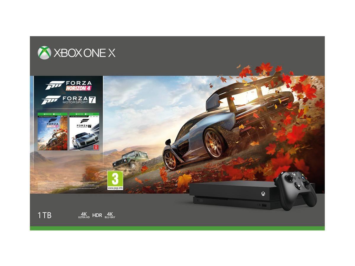 MICROSOFT Xbox X 1TB + Forza Horizon 4 + Forza Motorsport 7 NEO24