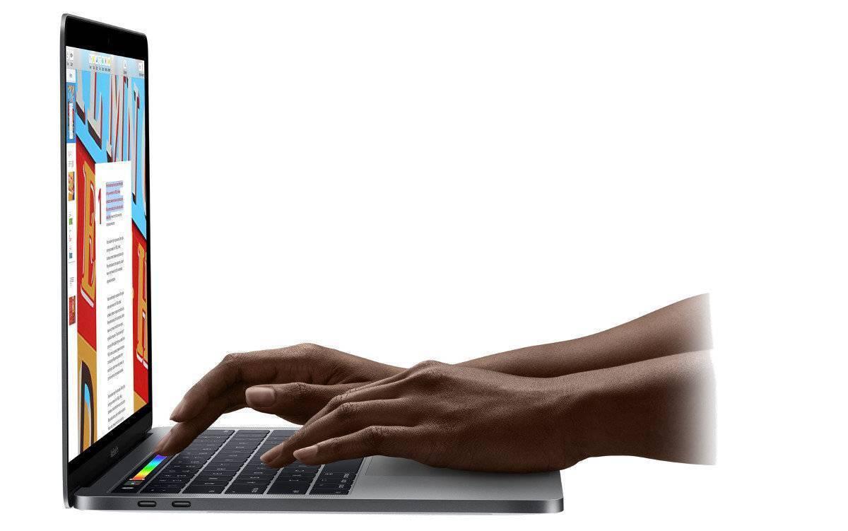 Laptop APPLE MacBook Pro 15.4 z Touch Bar i7 2.2GHz/16GB/256GB SSD/555X/MacOS Gwiezdna szarość MR932ZE/A