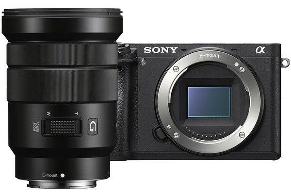 Sony a6500 z obiektywem 18-105mm f/4