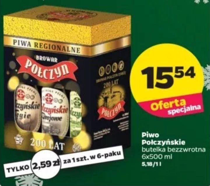 6x piwo Połczyńskie (2,59zł za 1) @ Netto