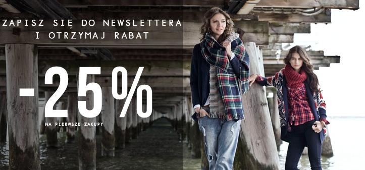 25% zniżki z newsletterem @ Moodo