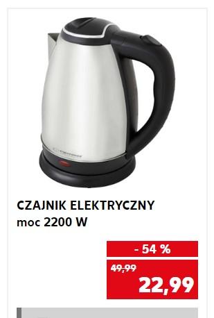 Czajnik Bezprzewodowy ESPERANZA 1,8 l. w Kaufland - 54%