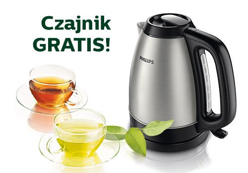 Przy zakupie sprzętu AGD Philips za minimum 250zł, odbierz czajnik o wartości 159zł GRATIS