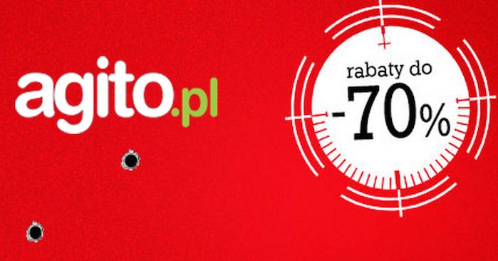 Totalna wyprzedaż w Agito.pl! Rabaty do 70%!
