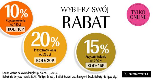 Do 20% zniżki na zakupy + GRATIS do zakupów @ Douglas