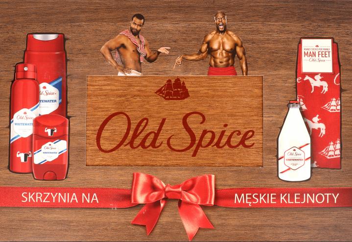 ROSSMANN: Zestaw kosmetyków Old Spice w drewnianym pudełku ze skarpetkami w prezencie