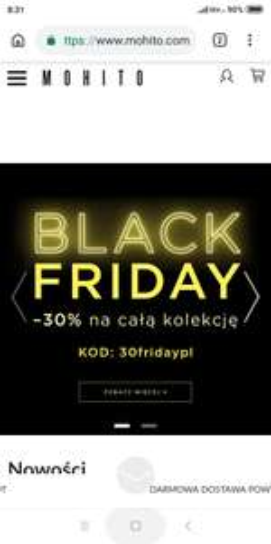 Mohito Black Friday wszystko -30%