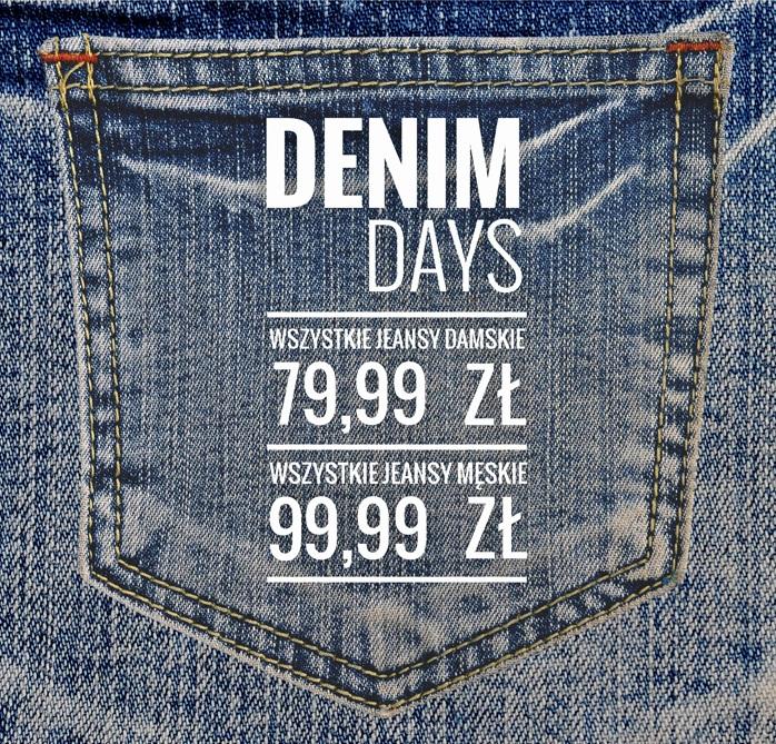 Wszystkie jeansy w jednej cenie - damskie za 79,99zł, męskie za 99,99zł @ House