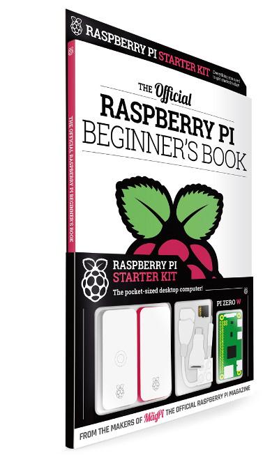Raspberry Pi Beginner's Book - oficjalny poradnik + zestaw Raspberry Pi Zero W -50%
