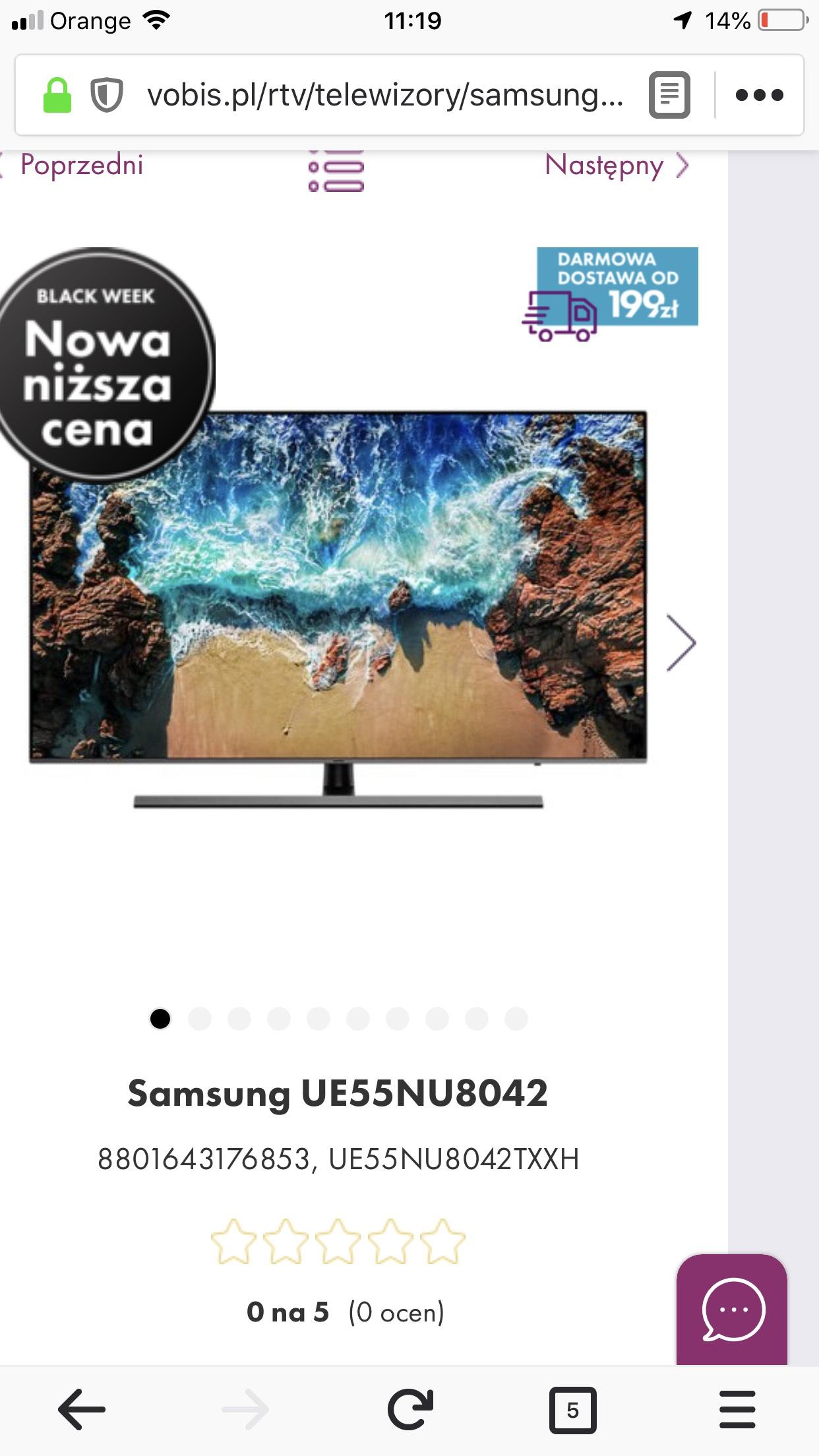 Samsung UE55NU8042