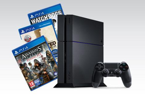 Konsola PS4 1TB +  Assassin's Creed Syndicate + Uncharted: kolekcja Nathana Drake'a + Watch Dogs za 1699zł @ Biedronka