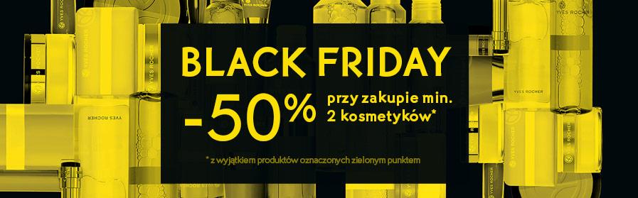 -50% przy zakupie min . 2 kosmetyków z wyjątkiem produktów oznaczonych na zielono Yves Rocher