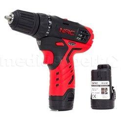 Wiertarko-wkrętarka NAC, 2 akumulatory