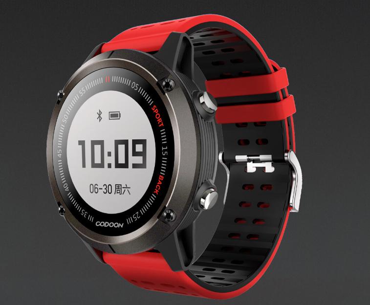 Smartwatch XIAOMI Codoon S1 z GPS-em (aliexpress)