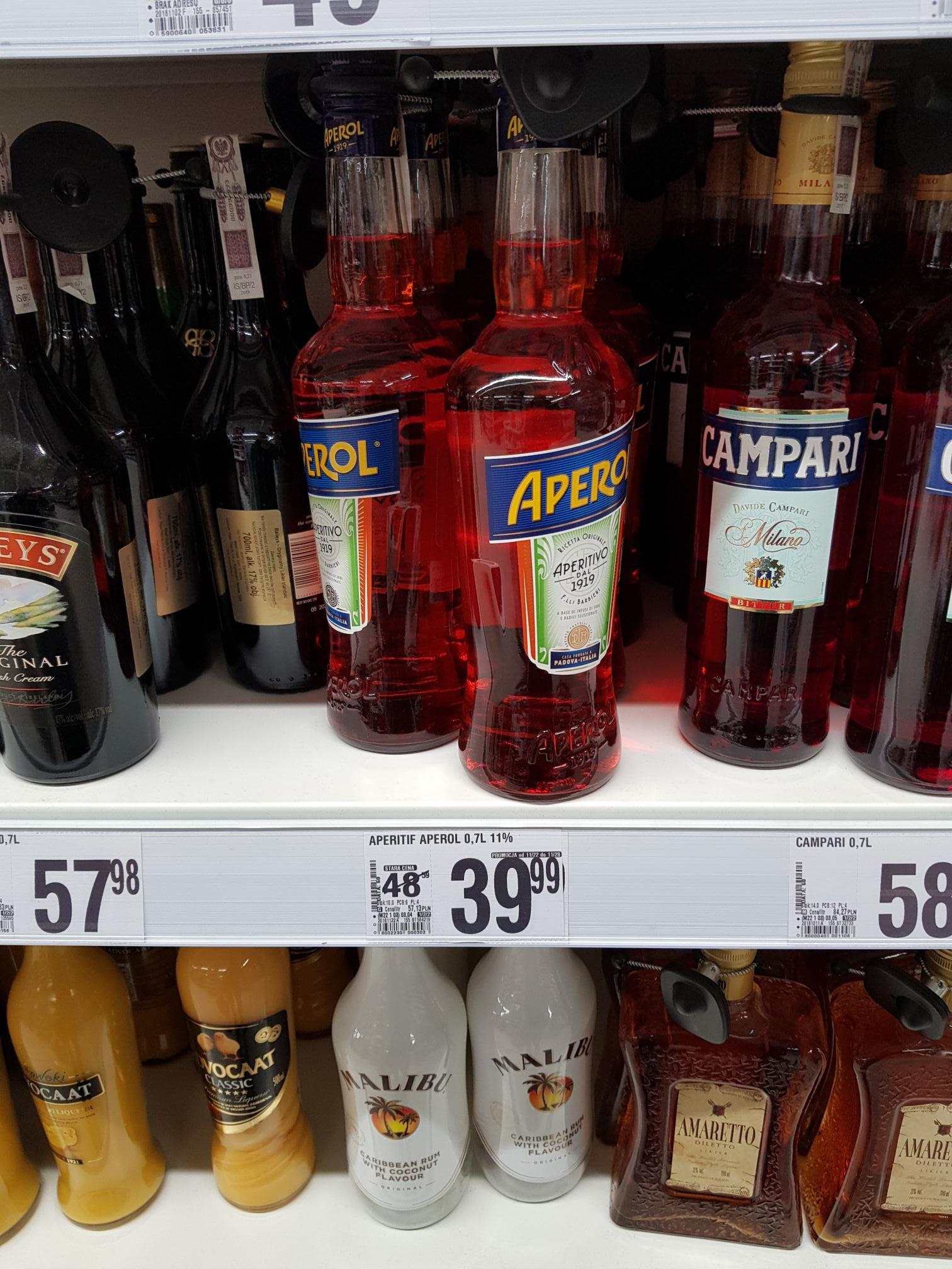 Aperol Auchan Katowice