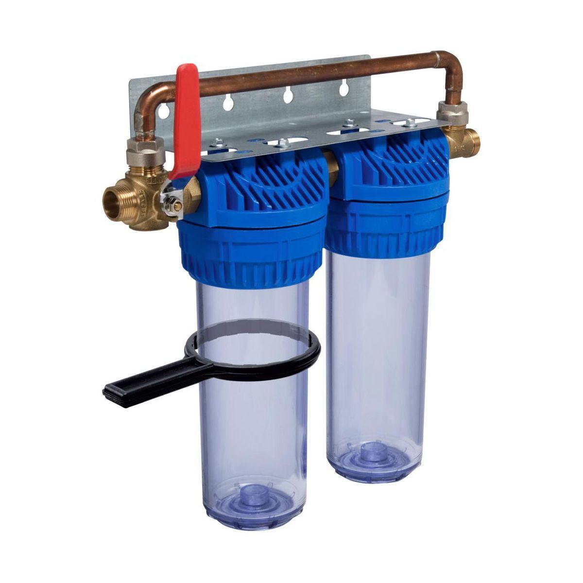 Zestaw filtrujący 2-STOPNIOWY 66 l/min EQUATION