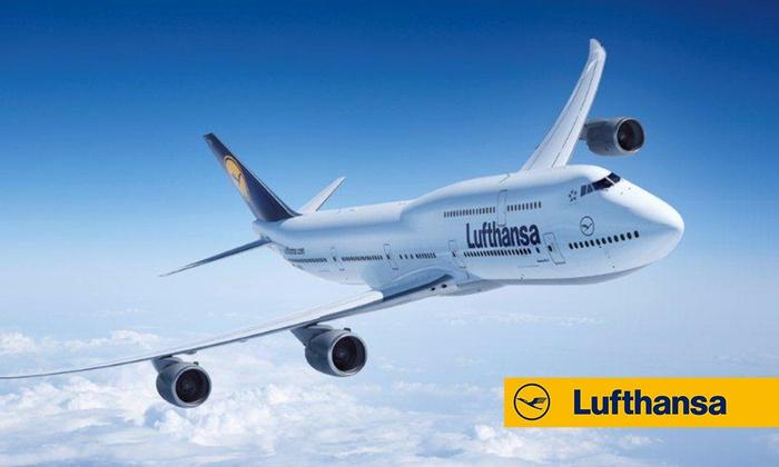 Kod zniżkowy o wartości 100zł za 5zł na loty Lufthansą @ Groupon