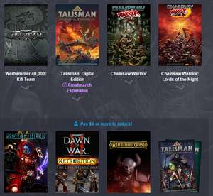 Talisman: Prologue ZA DARMO i pakiet gier Games Workshop od ok. 3,8zł @ Humble Weekly Bundle