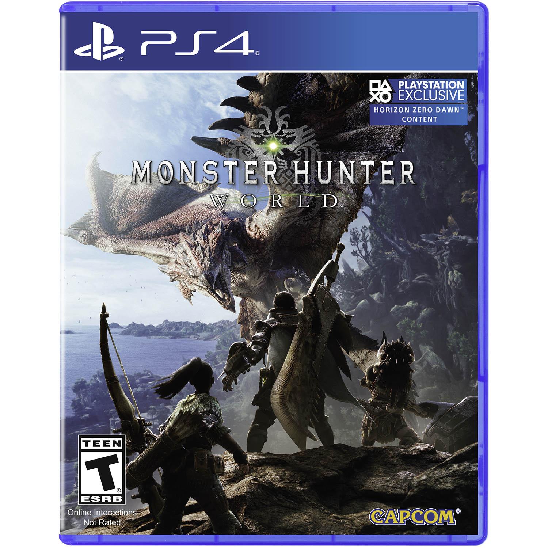 PS4 Monster Hunter: World z PS Store za 85.34 zł (doładowanie PSN 100 z Gamivo przez Paypal)