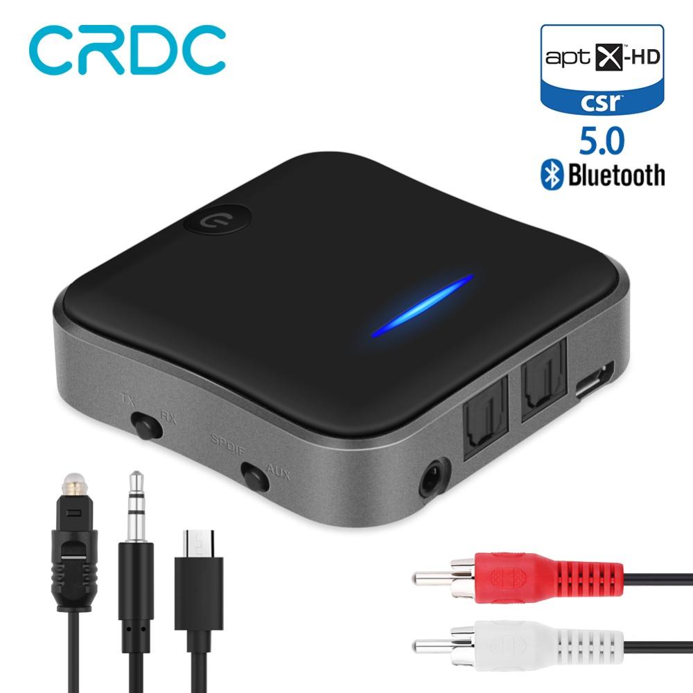 Odbiornik/transmiter Bluetooth 5.0 AptxHD CRDC