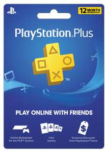 Sony PlayStation Plus 12 Month Subscription [Digital Download]