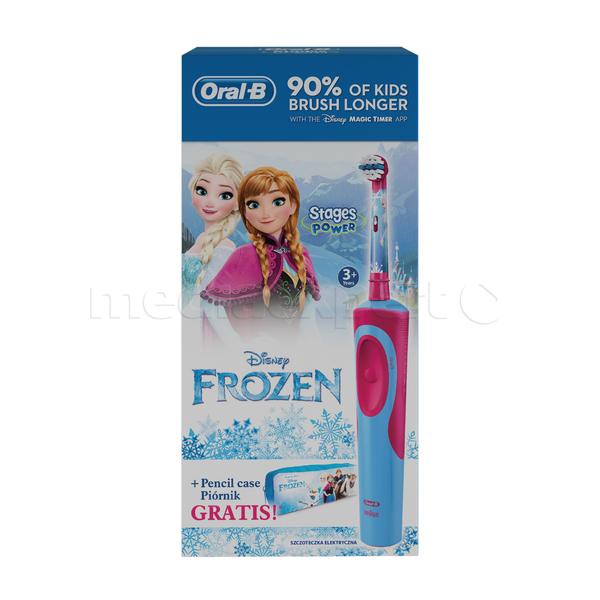 Szczoteczka rotacyjna ORAL-B D12 Kids Frozen (+ Piórnik)