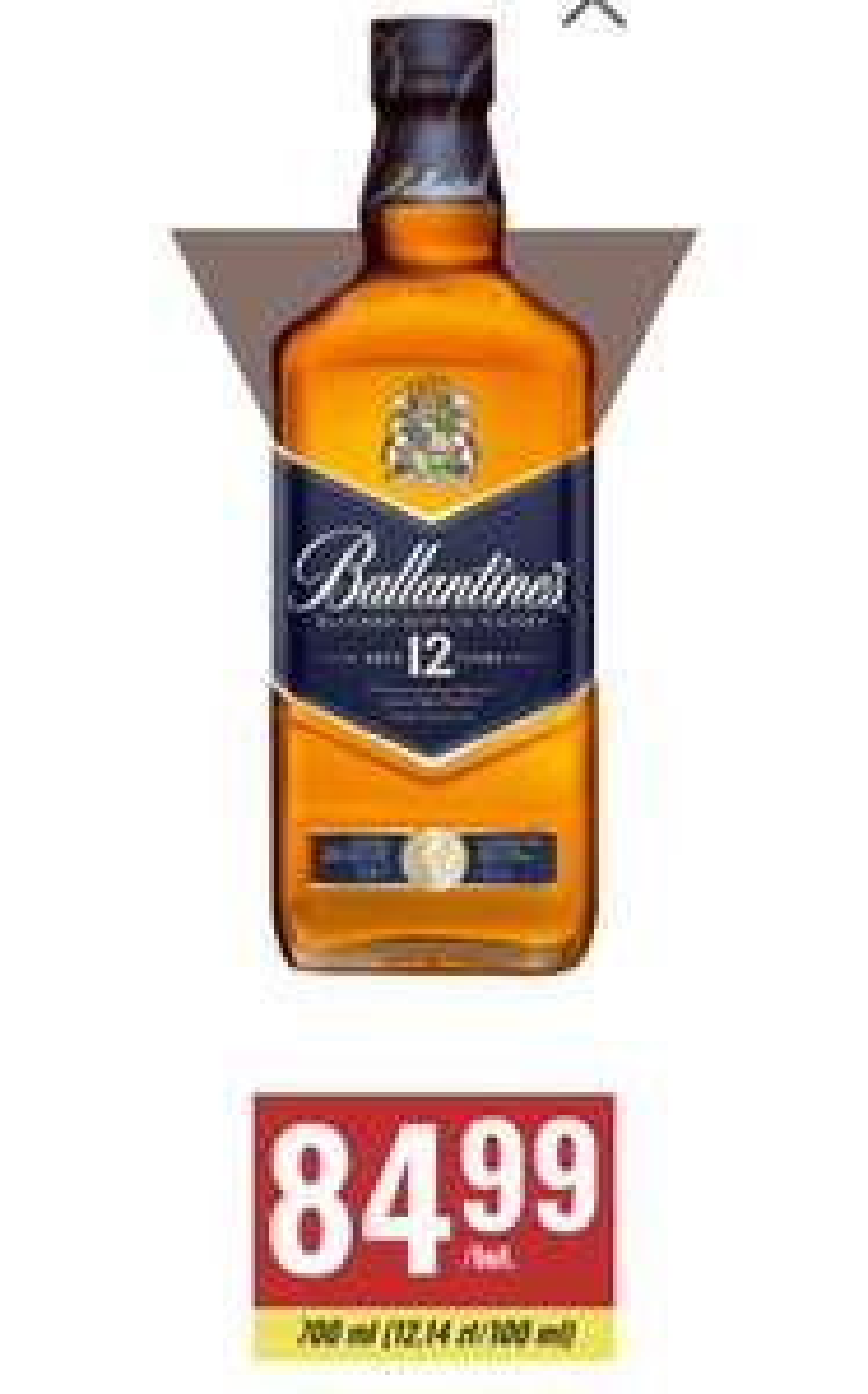 Whisky Ballantine's 12-letnia 40%  700 ml Biedronka