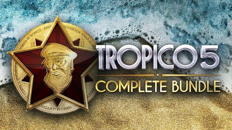 Tropico 5 bundle Steam za 4.29€ na fanatical.com