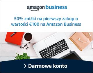 50% rabatu na pierwsze zamówienie o wartości 100€ @ Amazon.de (Business)
