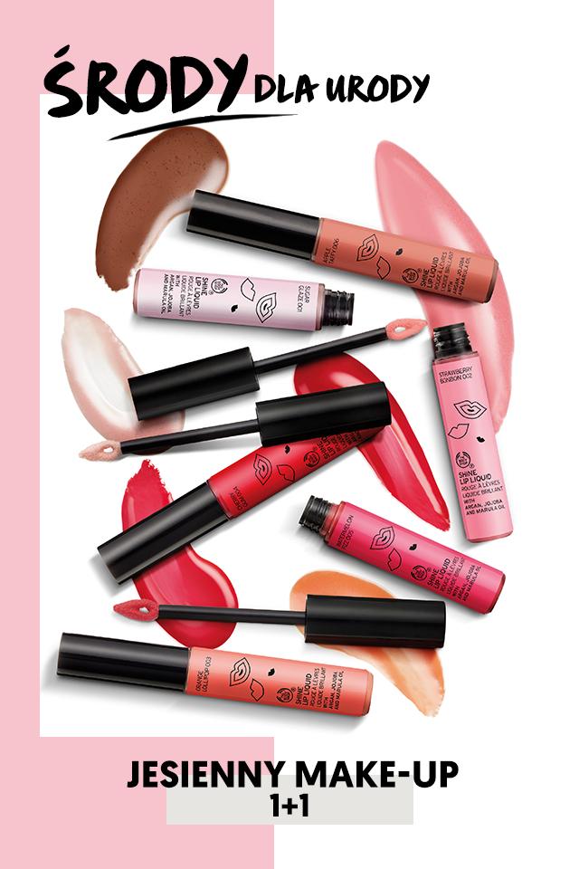 1+1 na kosmetyki do makijażu @ The Body Shop