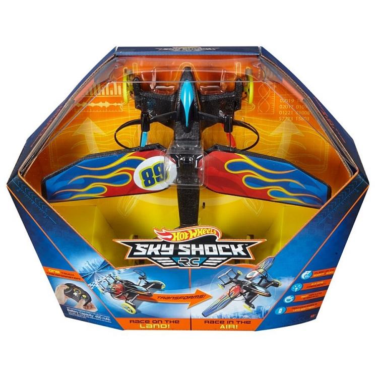 Hot Wheels, Sky Shock, latający pojazd zdalnie sterowany za 99,99zł @ Smyk