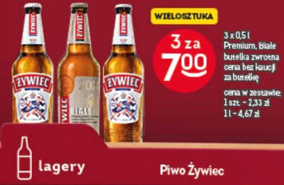 3x piwo Żywiec Białe (2,33 zł za 1) @ Żabka