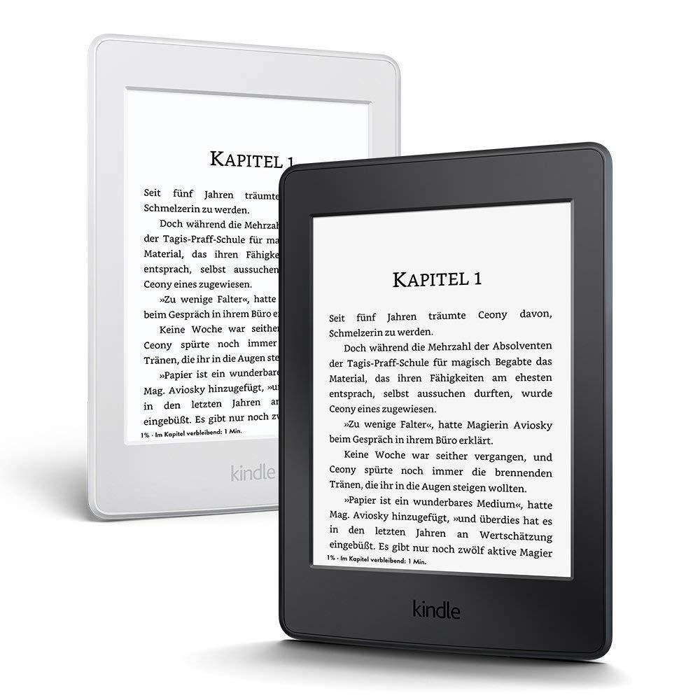 BIAŁY Kindle Paperwhite - bez reklamam - 8GB WiFi