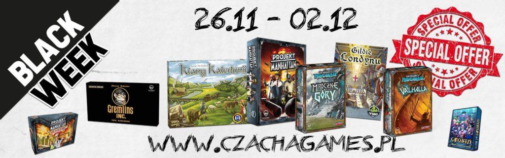 Wyprzedaż gier planszowych @ czachagames.pl