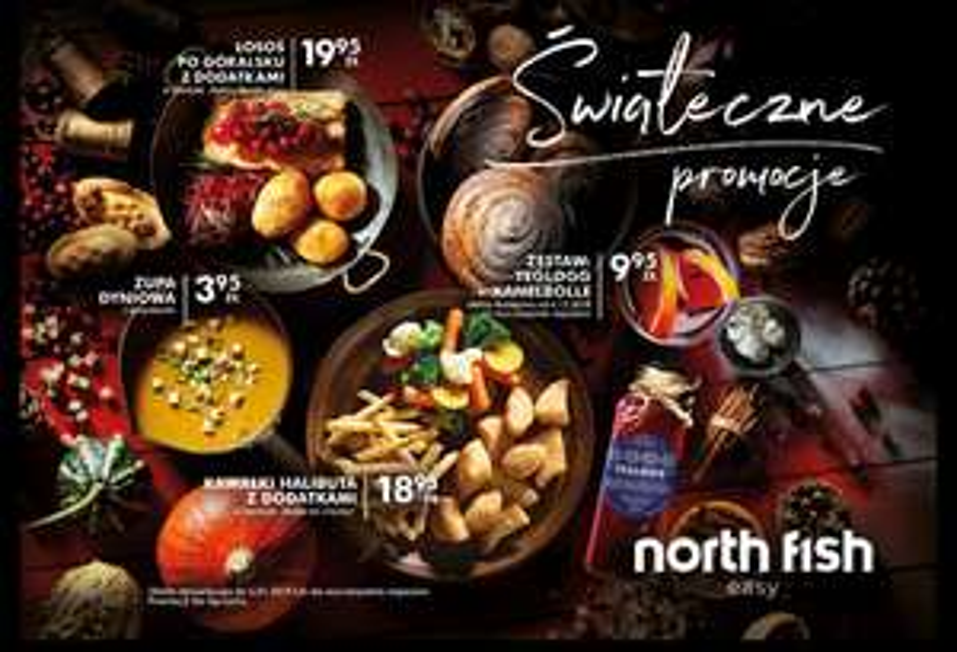 """Fishbony"" do restauracji North Fish"