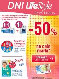Dni LifeStyle -50% na całe marki (tylko 27 i 28 października!) @ Super-Pharm