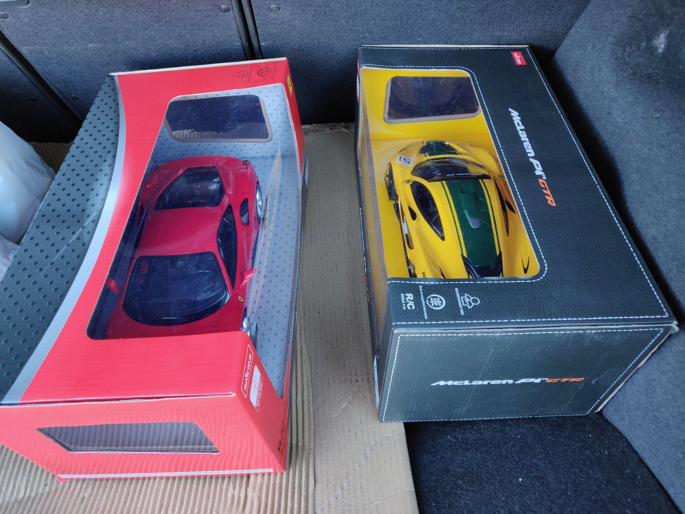 Auta zdalnie sterowane na licencji (McLaren, Ford, Porsche, BMW). Producent RASTAR 1:14 Biedronka