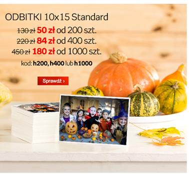 Odbitki 10x15 Standard od 18gr za sztukę @ Empikfoto