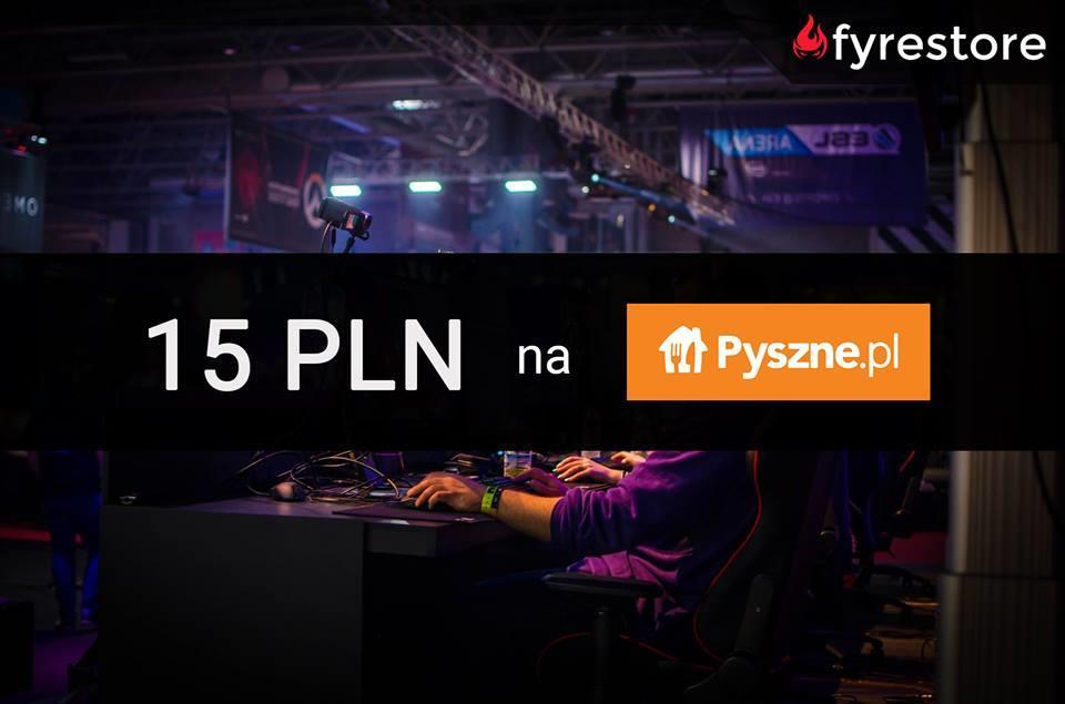 Kupon 15 PLN na Pyszne.pl dorzucany do każdego zamówienia!