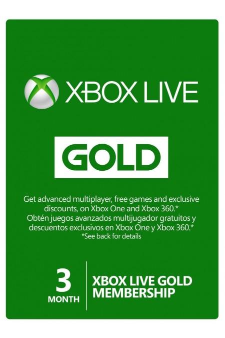 Xbox Live Gold 3 miesiące + 1000 V-Dolców Fortnite @Microsoft Store /9.99$