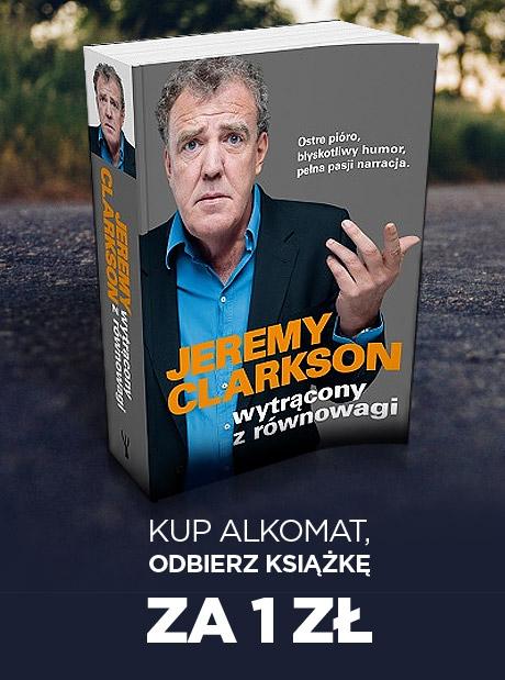 """Książka """"Wytrącony z równowagi"""" J.Clarkson za 1zł przy zakupie alkomatu @ Neo24"""
